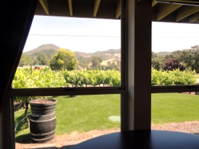 Our tasting room view.